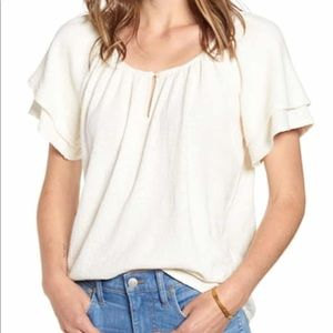 NWT Madewell // Texture and Thread Top